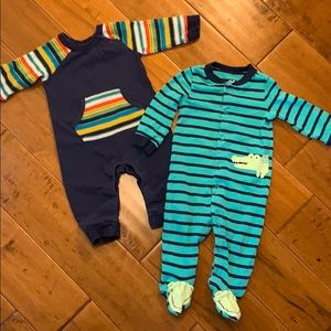Zutano overall baby with pocket and child of mine